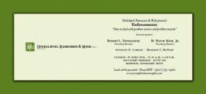 April 2016 Invitation - Front